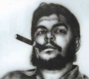 Che painted by Antonio Guerrero, one of the Cuban 5