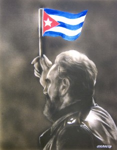 Art by Antonio Guerrero, one of the Cuban 5
