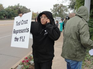 Rally against Ted Cruz 12/7/2013